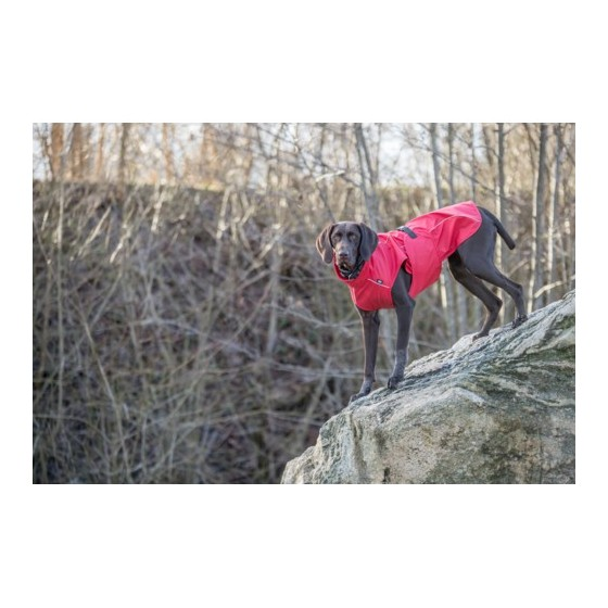 Impermeable Vimy Rojo