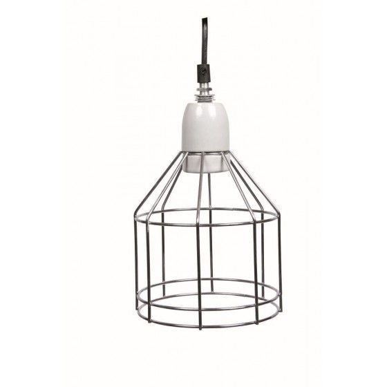 Ceramic Mesh Clamp Lamp - hasta 250 W: ø 14/ 24 cm