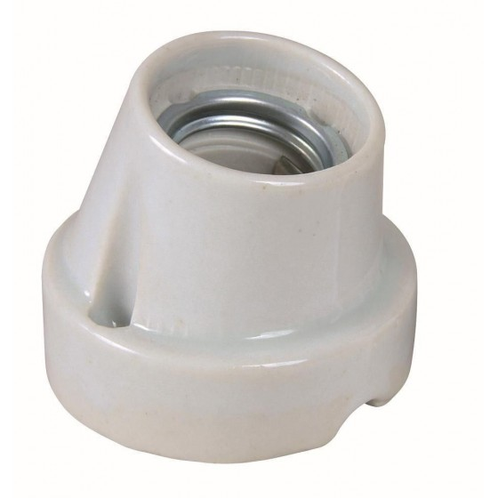 Set portalampara ceramica ProSocket, inclinado - h